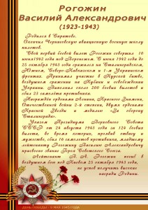 Рогожин В.А.