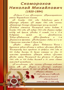 Скоморохов Н.М.